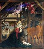 Nascita di Jesus Immagini Stock