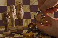 Nascita di scacchi Fotografia Stock