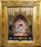 Nascita domestica dell'altare di Gesù Fotografie Stock Libere da Diritti