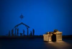 Nascita Gesù Fotografia Stock Libera da Diritti