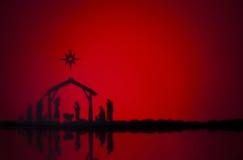 Nascita Gesù fotografia stock