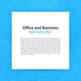 Nasconda la linea di business Art Background dell'ufficio Fotografia Stock Libera da Diritti