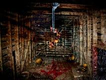Nascondiglio di Halloween fotografie stock libere da diritti