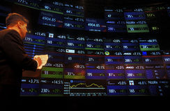 NASDAQ Στοκ Εικόνες