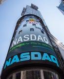 Nasdaq billboard at Times Square Royalty Free Stock Photos