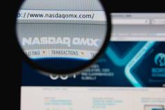 NASDAQ OMX stock foto's