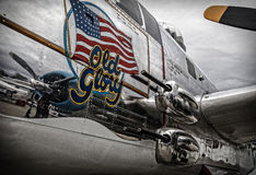 Nase Mitchell B-25 Stockfotos
