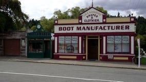 Naseby central Otago royaltyfri fotografi