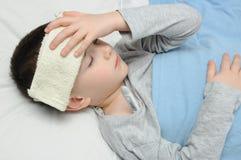 Nasenspray für Kinder Stockfoto
