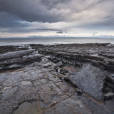 Nash Point, Glamorgan, Wales, UK. Royalty Free Stock Images