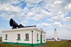 Nash Point Lighthouse Stock Photo