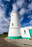 Nash Point West  Tower Lighthouse Royalty Free Stock Photos