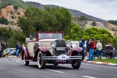 Nash, rallye internacional Barcelona - Sitges do carro do vintage da edição do Th 60 fotos de stock