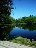Nashawannuck Pond Royalty Free Stock Image