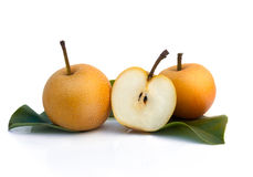Nashi pear Royalty Free Stock Image