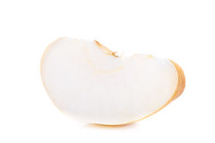 Nashi pear fruit over a white background Royalty Free Stock Photos