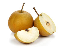 Nashi pear Royalty Free Stock Images