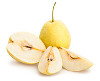 Nashi pear Royalty Free Stock Photos