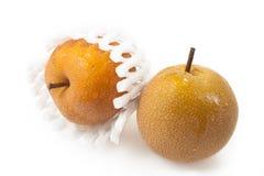 Nashi Pears Isolated royalty free stock image