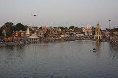 Nashik é uma cidade santa antiga no Maharashtra fotos de stock royalty free