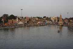 Nashik is een oude heilige stad in Maharashtra royalty-vrije stock foto's
