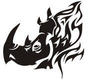 Nashornflammen Lizenzfreie Stockbilder