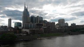 Nashville bij dageraad Royalty-vrije Stock Foto's