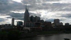 Nashville bij dageraad Royalty-vrije Stock Afbeelding