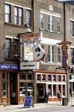 Nashville. Broadway street in Nashville TN, USA royalty free stock photo