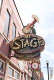 Nashville céntrica Fotos de archivo