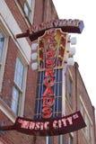 Nashville céntrica Imágenes de archivo libres de regalías