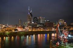 Nashville céntrica Tennessee Fotografía de archivo libre de regalías
