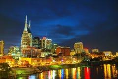 Nashville céntrica, TN Foto de archivo libre de regalías