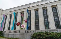 Nashville centrerar först för bildkonsten arkivbild