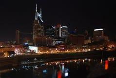 Nashville Cityscape. Across the riverfront Royalty Free Stock Image