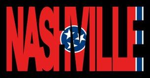 Nashville con el indicador de Tennessee libre illustration