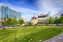 Nashville Country Music Hall of Fame royalty free stock photography