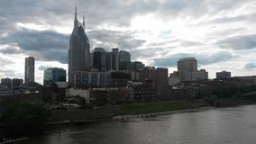 Nashville at dawn Royalty Free Stock Photos