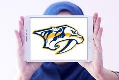 Nashville drapieżników drużyny hokejowej lodowy logo Fotografia Stock