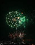 Nashville Fire works Royalty Free Stock Photography
