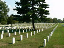Nashville National Cemetery Royalty Free Stock Photo