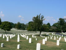 Nashville National Cemetery Stock Photography