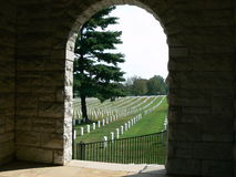 Nashville National Cemetery Speakers Rosturum Royalty Free Stock Photos
