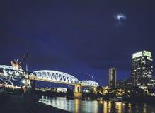 Nashville at Night Stock Photos