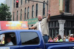 Nashville - Opening parade with Big Smo Royalty Free Stock Image