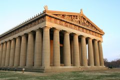 Nashville Parthenon. Parthenon in Centennial Park, Nashville, TN stock photography