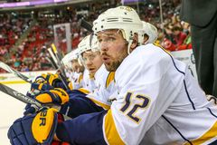 Nashville Predators center Mike Fisher Stock Photography