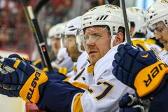 Nashville Predators right wing Patric Hornqvist Royalty Free Stock Photography