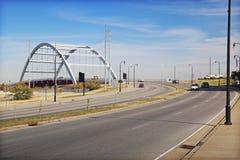 Nashville River Bridge Stock Photography