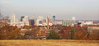 Nashville-Skyline Stockbild